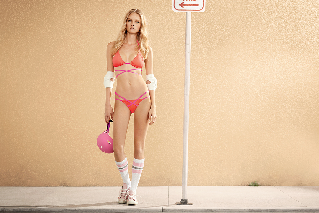 Courtesy L Agent Swim. L Agent by Agent Provocateur has collaborated with  ... d5c867c99