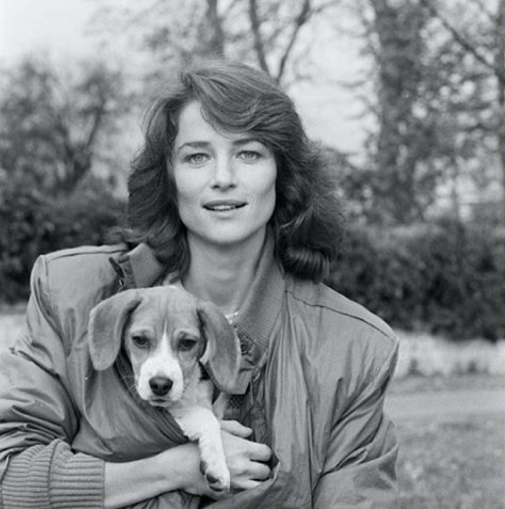 Charlotte Rampling, 1980 - Jean Claude Deutsch/Paris Match