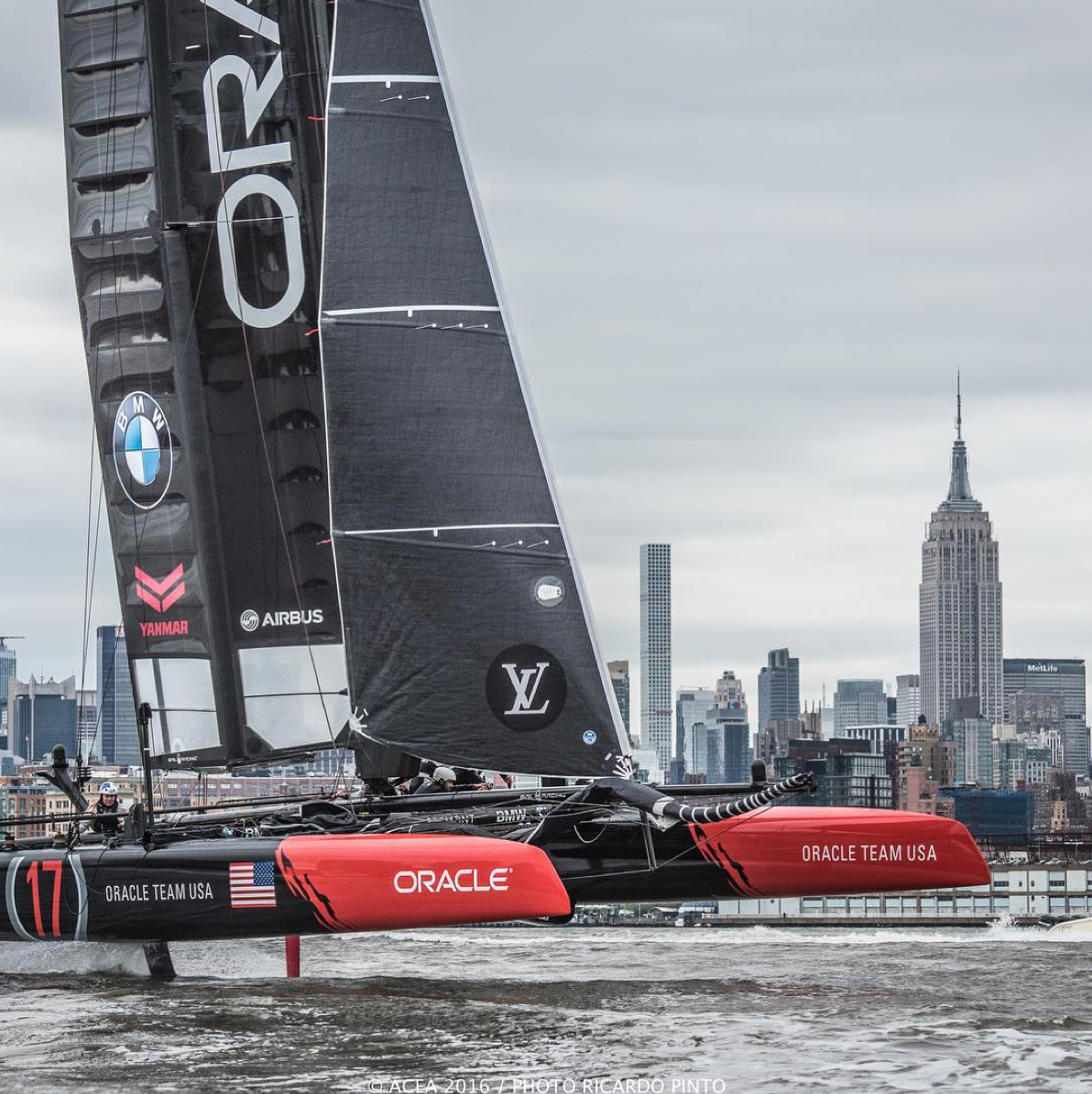 Photo: americascup/instagram