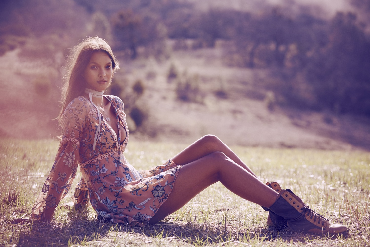 for love lemons unveils fall winter 2016 wildflower lookbook with model lais ribeiro malendyer