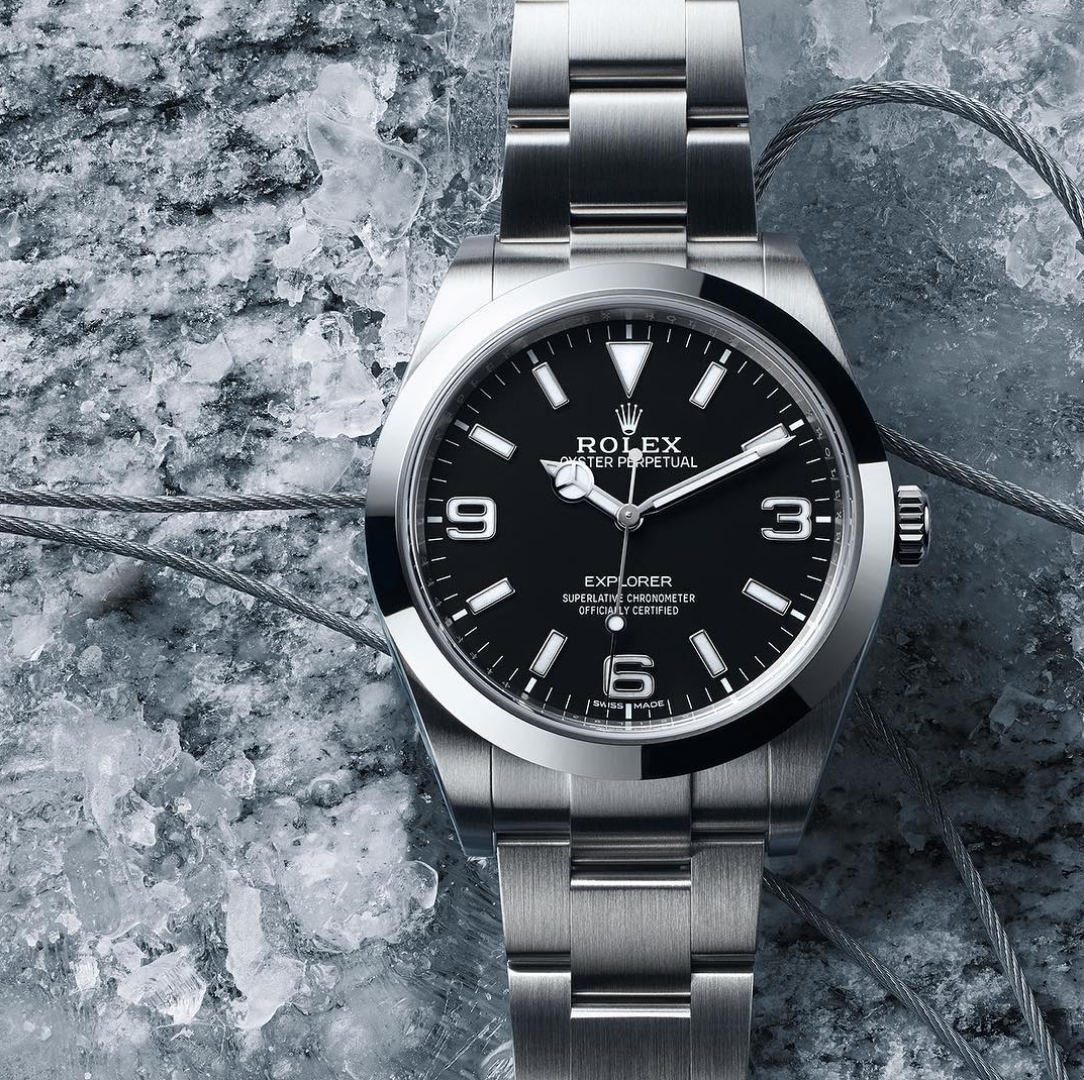 Photo: rolex/instagram, Rolex Explorer