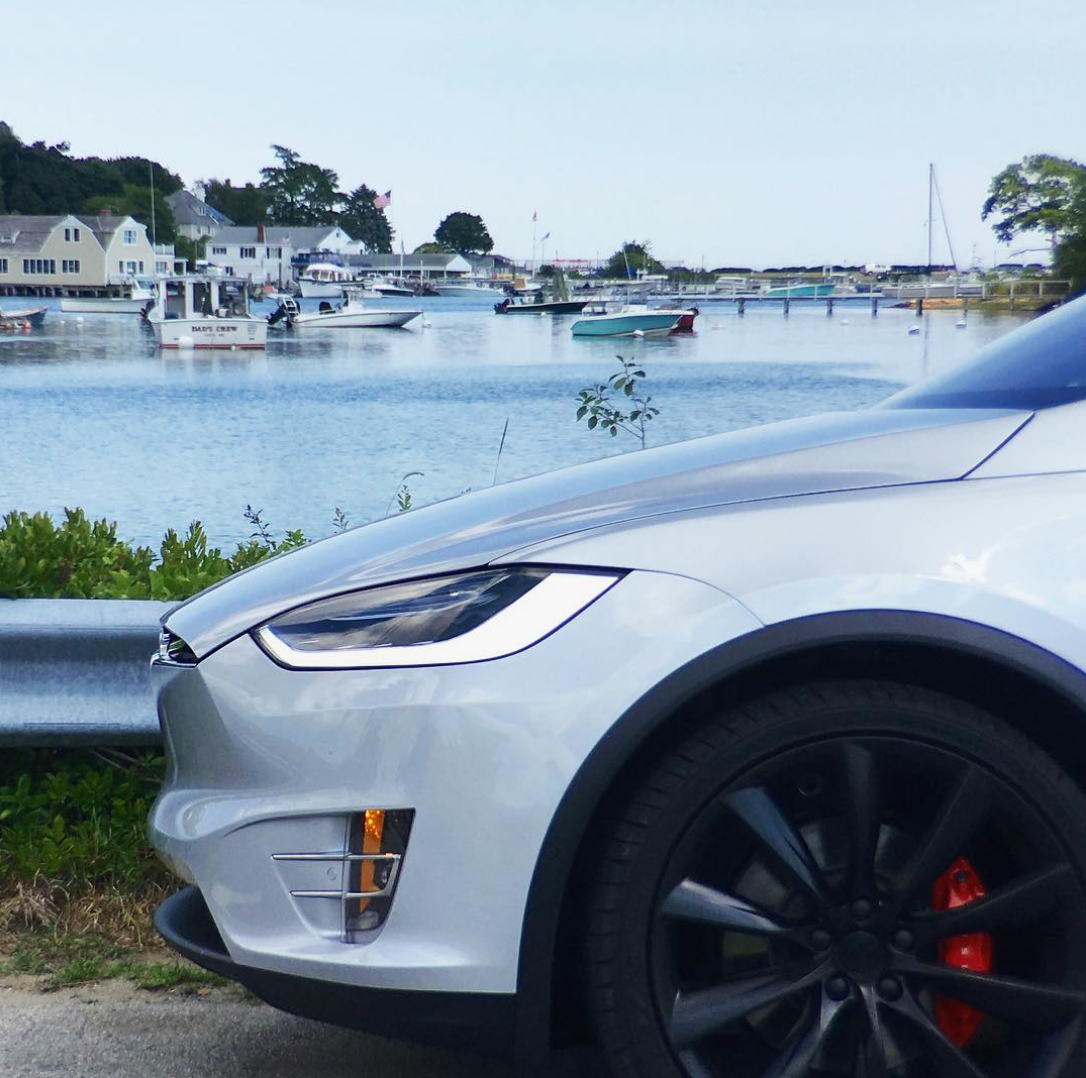 Photo: teslamotors/instagram, in Maine