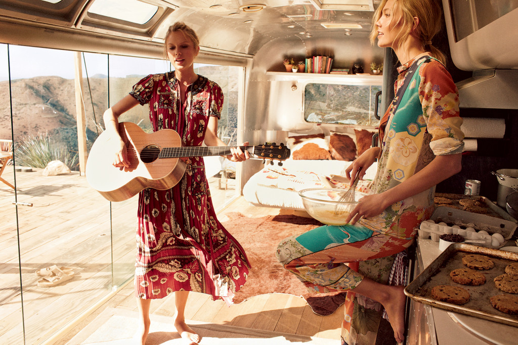 Vogue - Karlie Kloss and Taylor Swift for breakfast