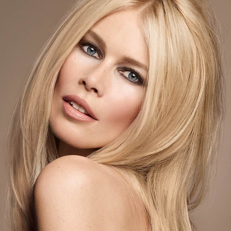 Claudia Schiffer Launches a New Makeup Line