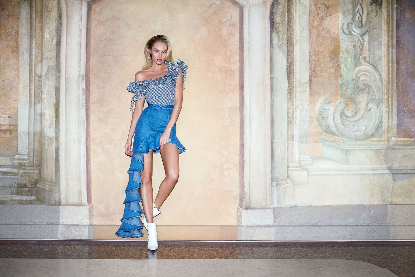 Candice Swanepoel for Miss Sixty's Spring-Summer 2018 ...