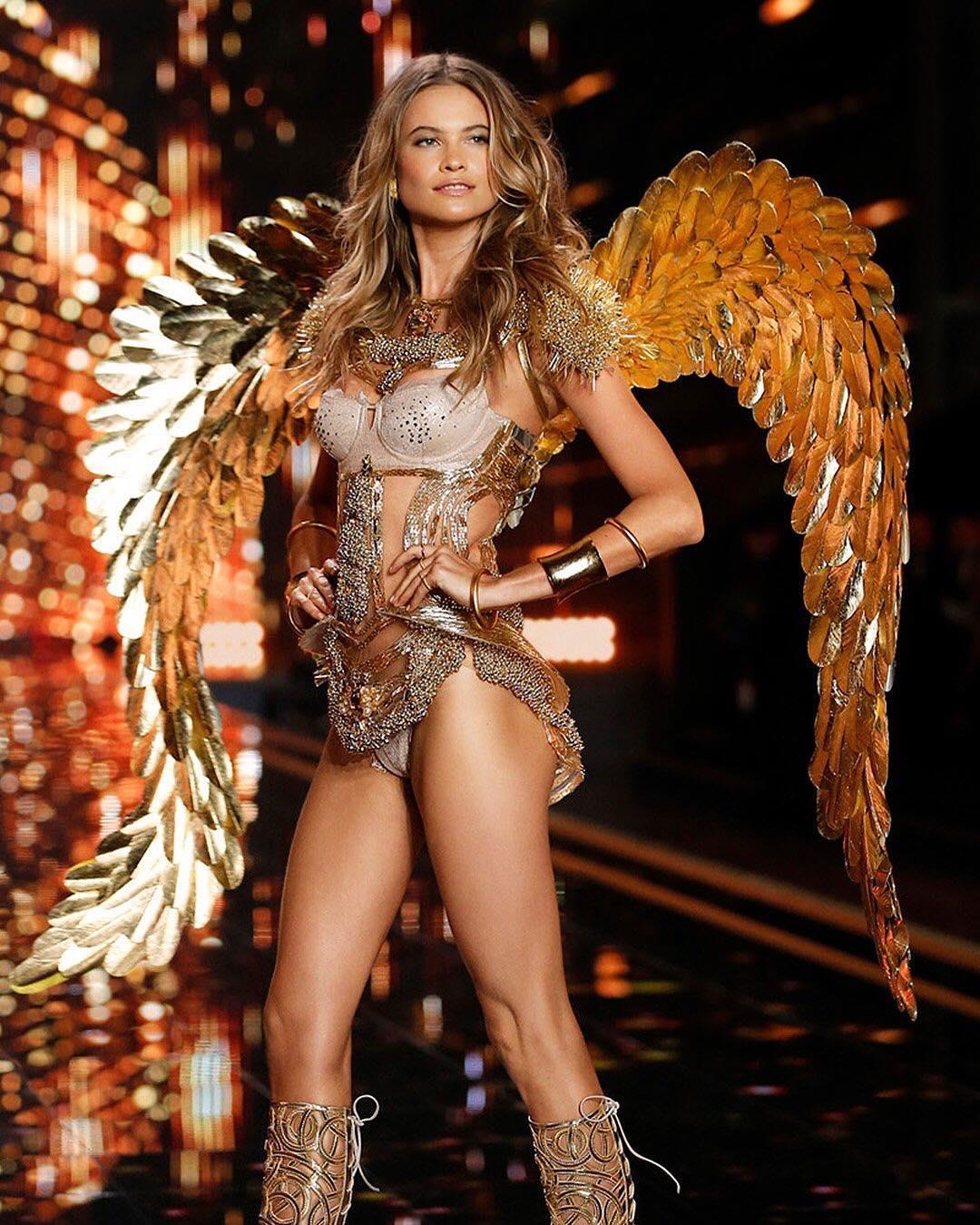 db94605f18 Photo  Victoria s Secret. Model Behati Prinsloo Levine announced she is  returning to ...